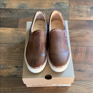 Bed Stu slip on leather shoes 8.5